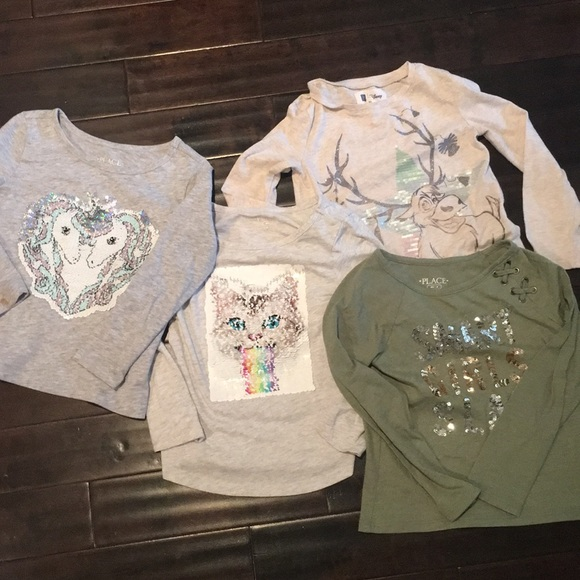 Children's Place Other - 4 pc bundle! CP / Gap ( Disney ) size 4